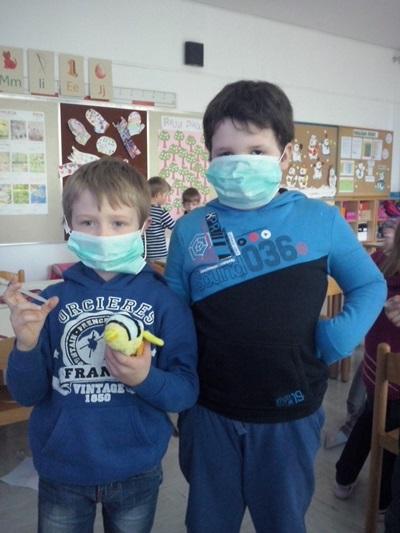 Prvošolčki in zdravje