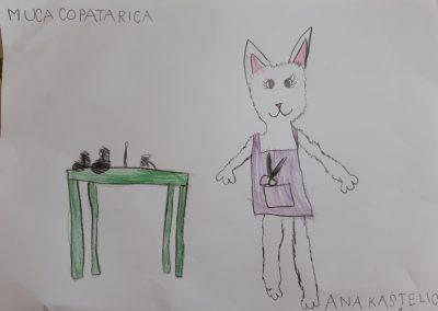 Muca Copatarica, Ana Kastelic, 1. b