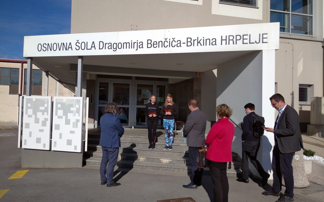 Obisk delegacije Ministrstva za šolstvo